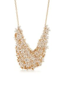 kate spade new york Gold-Tone Statement Necklace