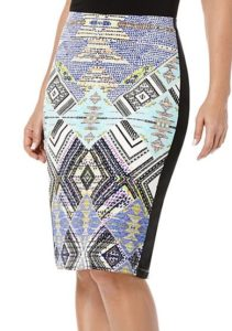 Rafaella Printed Pencil Skirt at Belk