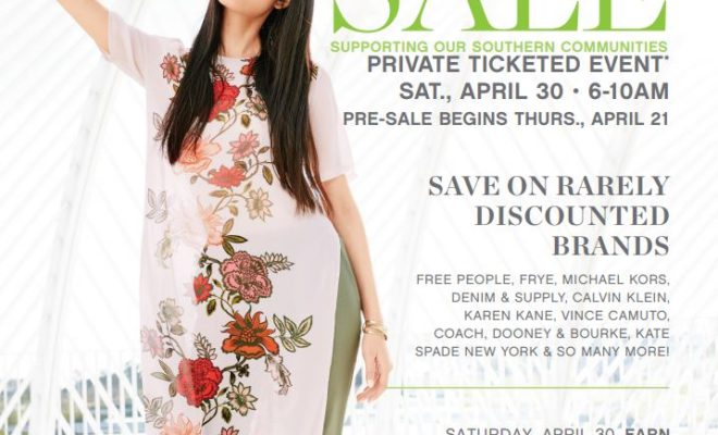 Belk Spring Charity Sale