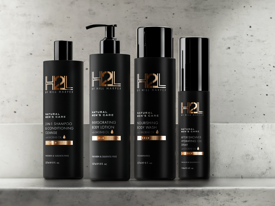 H2L Natural Men's Care Premium Hair & Body Kit